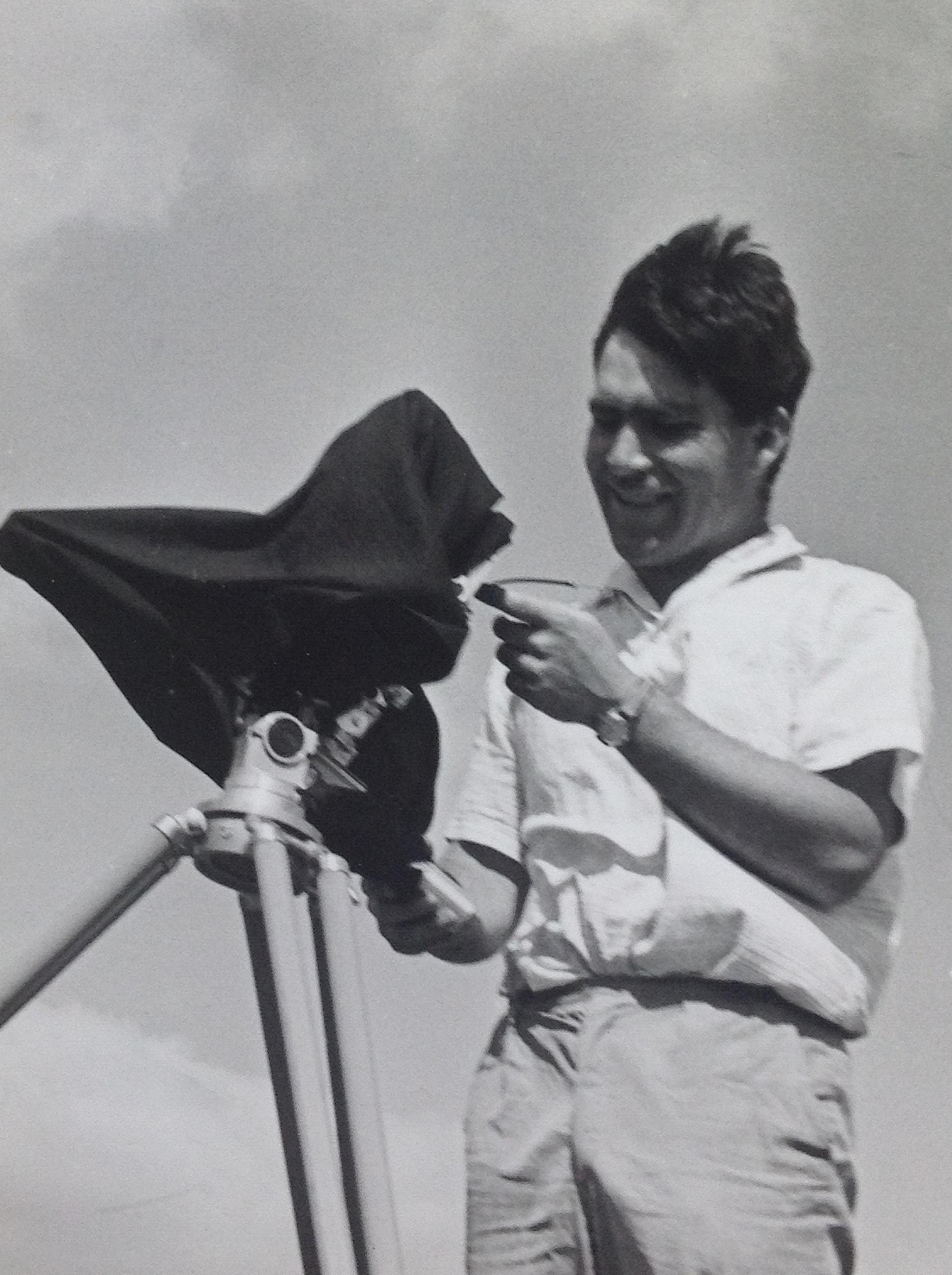 Alfred Haffner in den 1960er Jahren