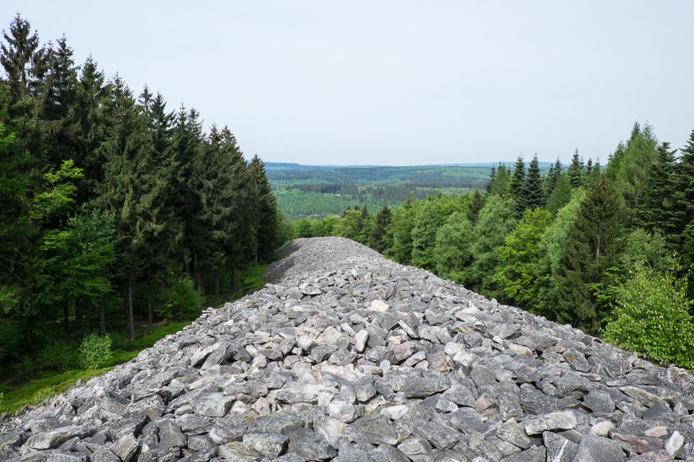 Hunsrück - Abschnittswall Hunnenring bei Otzenhausen
