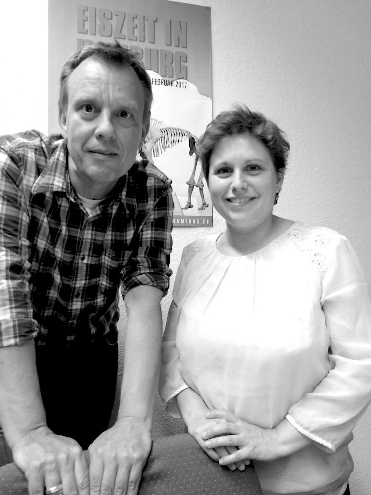 Katrin Schröder und Michael Merkel im Juli 2015