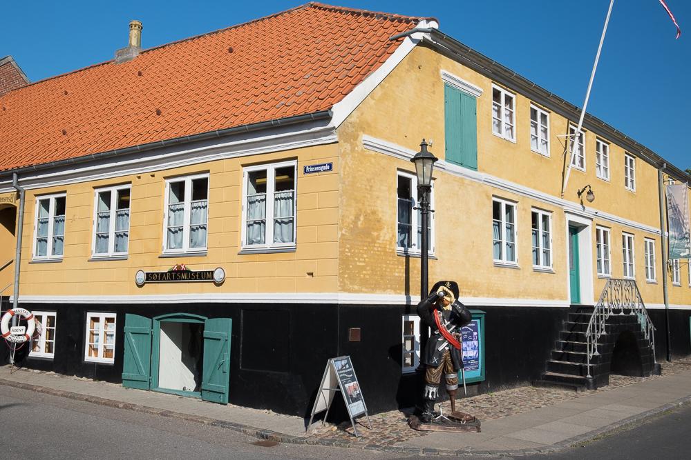Insel Ærø - Seefahrtsmuseum in Marstal