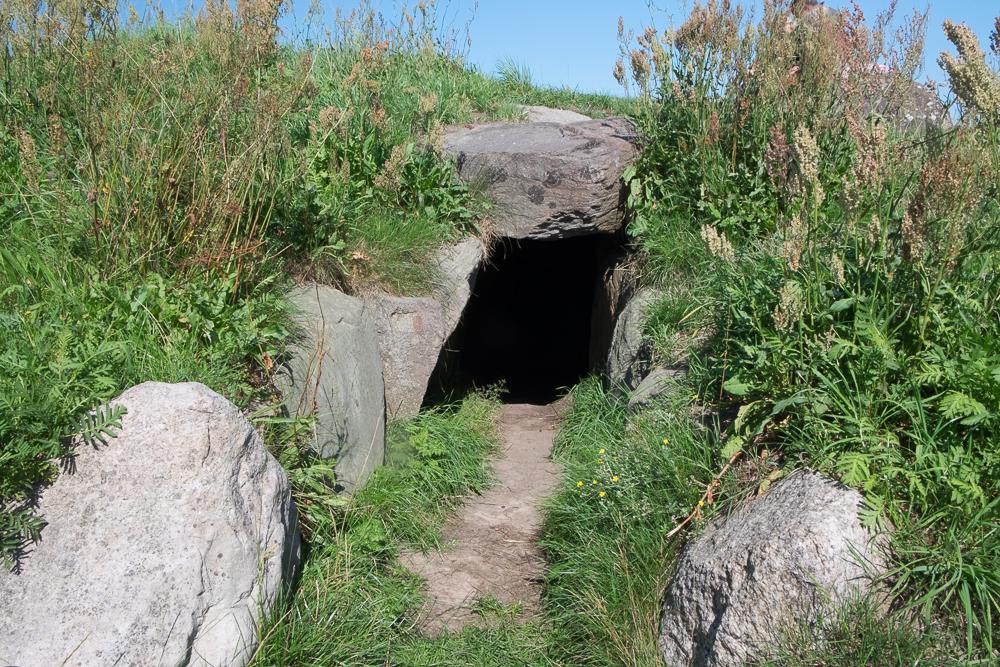 Insel Ærø - Das Ganggrab von Kragnæs