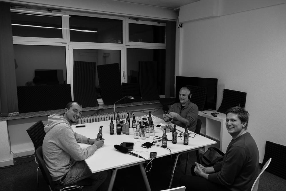 Zu Besuch bei audioguideMe in Hamburg Borgende - Paul Bekedorf, Hannes Wirtz, Christoph Haffner