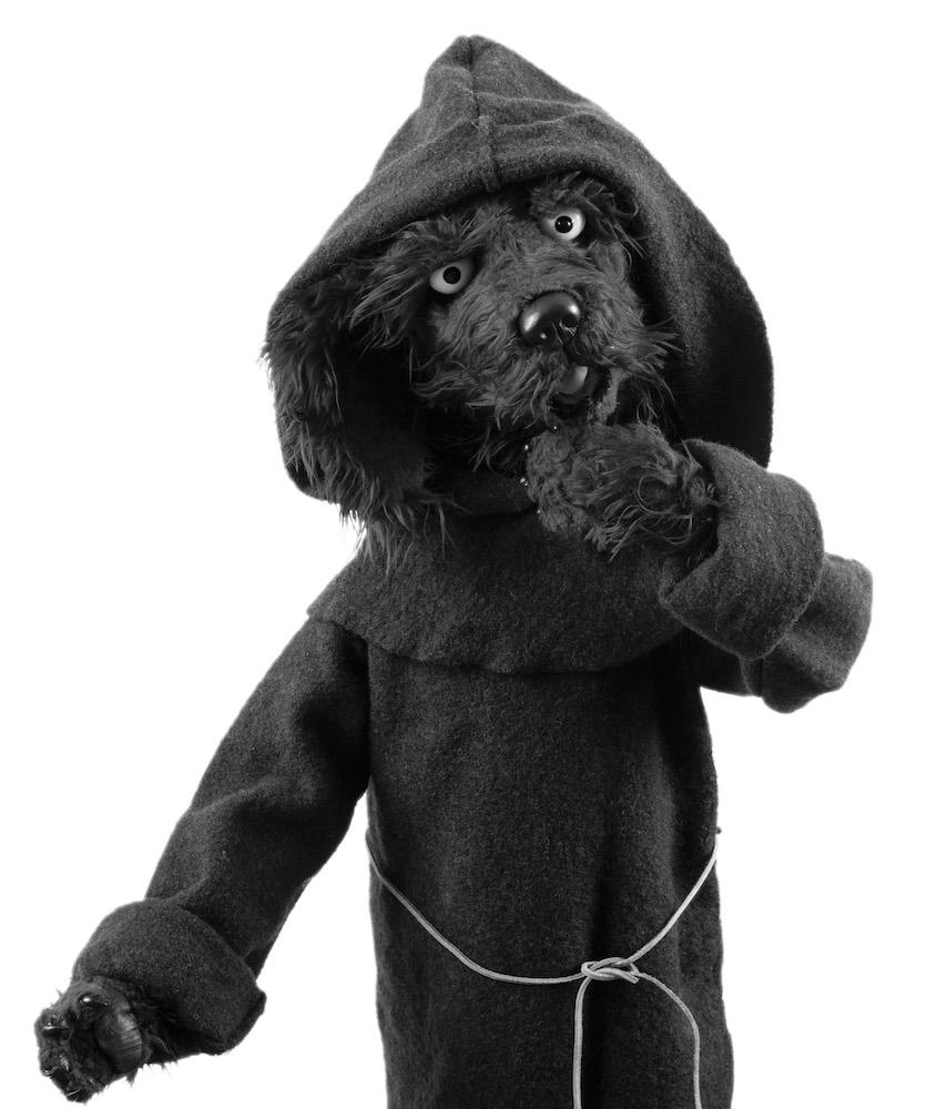 Luthers Hund? Der blaue Hund aus der Luther Ausstellung in Wittenberg