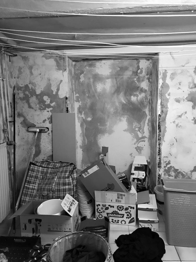 Kellerraum im Pfarrhaus Freisen