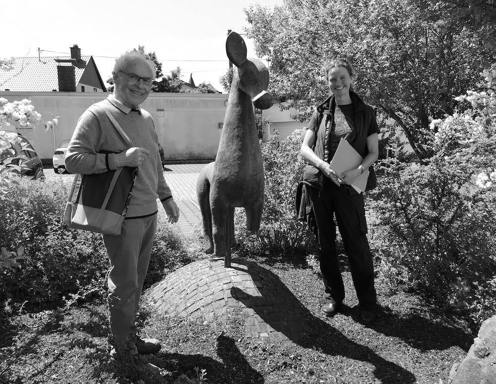 Isabel Schormann, Alfred Haffner und das Freiester Pferdchen